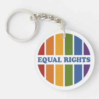 Equal Rights key chain