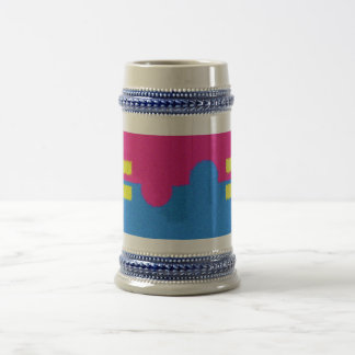 Equal Rights Logo, Impressionist's Style Beer Stein