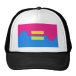 Equal Rights Logo, Impressionist's Style Hats