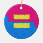 Equal Rights Logo, Impressionist's Style Ornaments