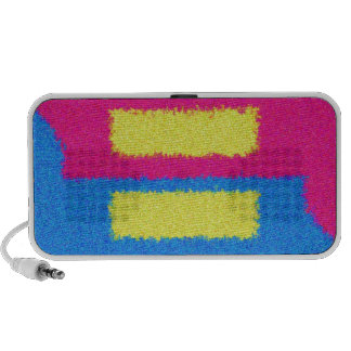 Equal Rights Logo, Impressionist's Style Mini Speakers