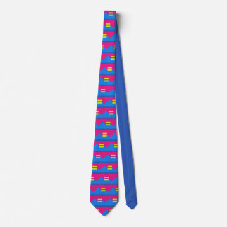 Equal Rights Logo, Impressionist's Style Tie