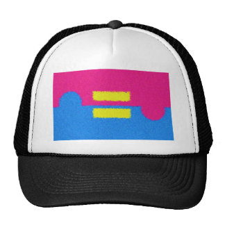 Equal Rights Logo, Impressionist's Style Trucker Hat