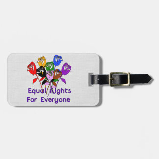 Equal Rights Tag For Luggage