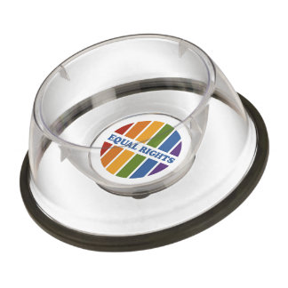 Equal Rights pet bowls