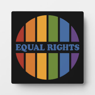 Equal Rights plaque
