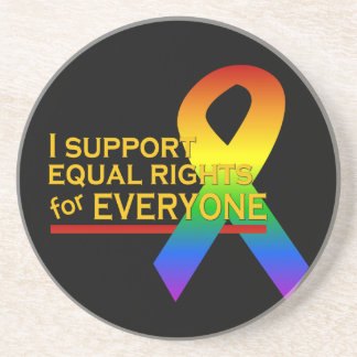 Equal Rights Supporter coaster