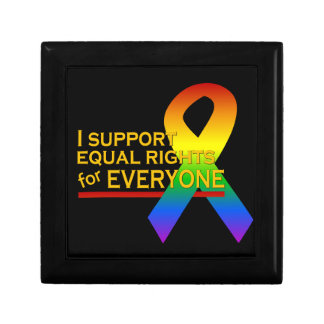 Equal Rights Supporter gift / jewelry box
