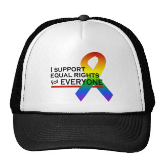 Equal Rights Supporter hat - choose color