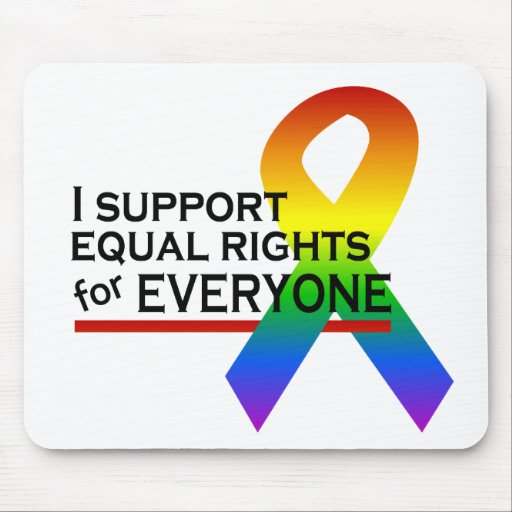 Equal Rights Supporter mousepad