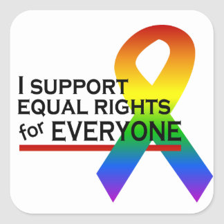 Equal Rights Supporter stickers