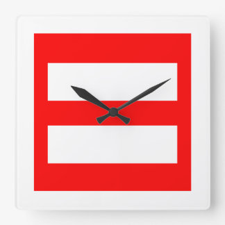 Equal Sign Clocks