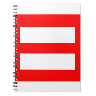 Equal Sign Note Books