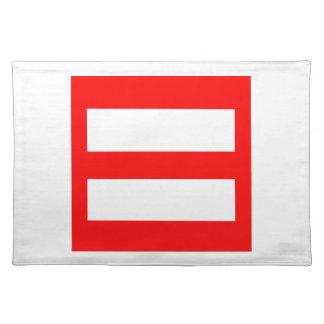 Equal Sign Place Mat
