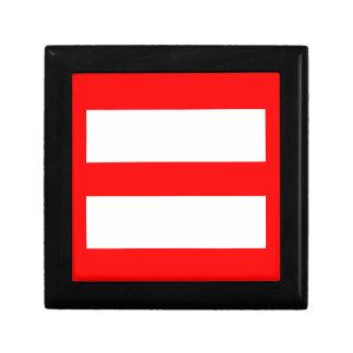Equal Sign Trinket Box