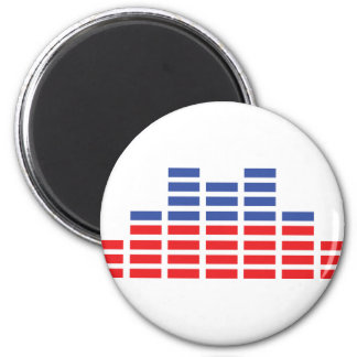 equaliser icon 2 inch round magnet
