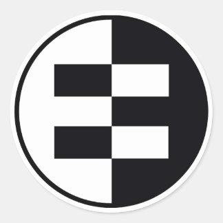 Equalit-EE Pegatina Redonda