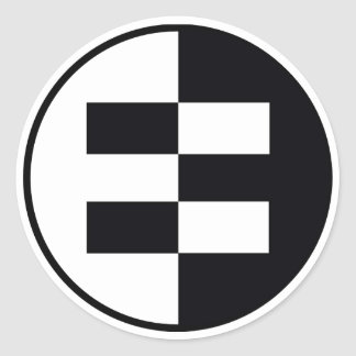 Equalit-EE's Classic Round Sticker