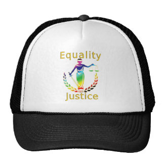 Equality and Justice Trucker Hat