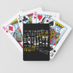 Equality Cards Poker Deck
