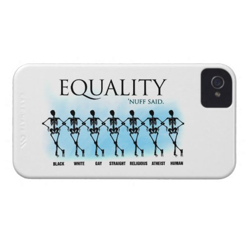 Equality Case-Mate iPhone 4 Case