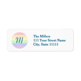 Equality Custom Return Address Label