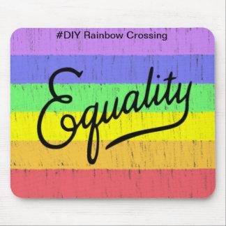 Equality  #DIY Rainbow - Mouse Pad