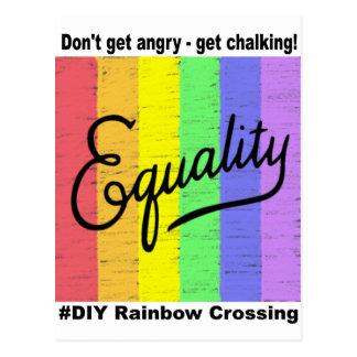 Equality  #DIY Rainbow - Postcard 2