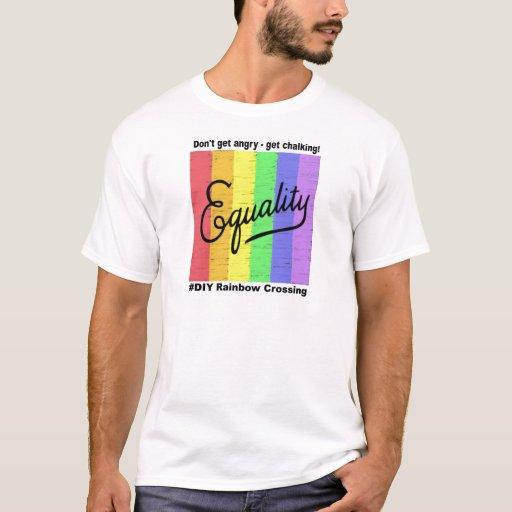 Equality  #DIY Rainbow - T-Shirt