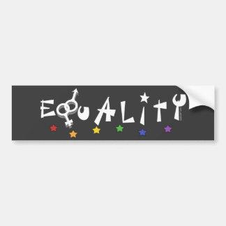 Equality Drk Bumper Sticker