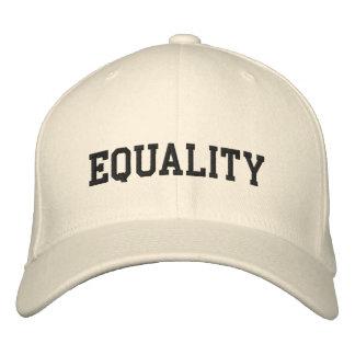 EQUALITY EMBROIDERED BASEBALL CAPS