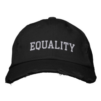 EQUALITY EMBROIDERED HATS