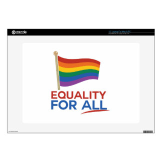 """Equality For All Decal For 15"""" Laptop"""