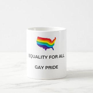 EQUALITY FOR ALL-GAY PRIDE MUG