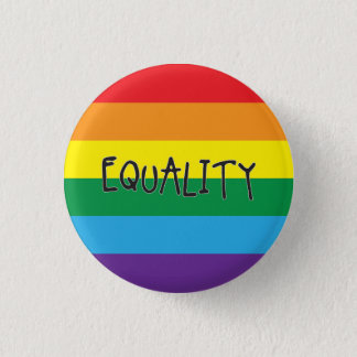 Equality for all pinback button