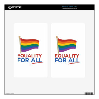 Equality For All Decal For Kindle Fire