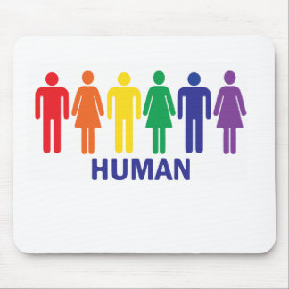 EQUALITY GAY RIGHTS RAINBOW MOUSE PAD