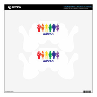 EQUALITY GAY RIGHTS RAINBOW PS3 CONTROLLER SKIN