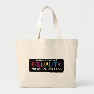 Equality Jumbo Canvas Bags