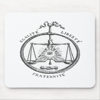 Equality Liberty Fraternity Mousepads
