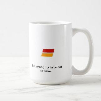 Equality MD- Love Classic White Coffee Mug