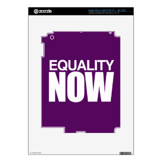 EQUALITY NOW -.png iPad 3 Decal