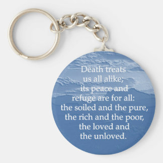 Equality of Death Keychain