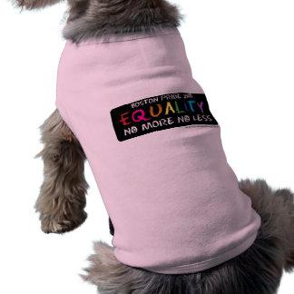 Equality Pet Tank Pet Tshirt