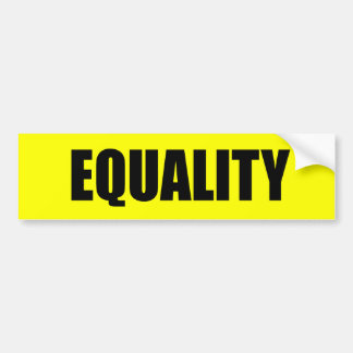 EQUALITY - .png Car Bumper Sticker