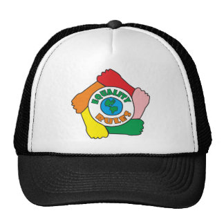 Equality Rules Trucker Hat