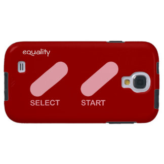 """Equality """"select start"""" gay rights galaxy s4 case"""