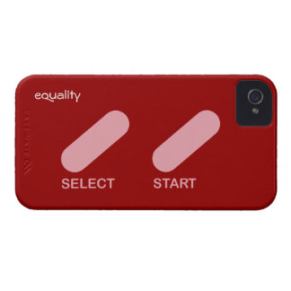 """Equality """"select start"""" gay rights iPhone 4 case"""