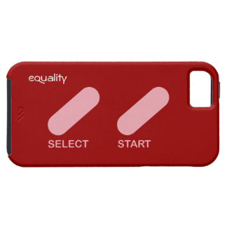 """Equality """"select start"""" gay rights iPhone SE/5/5s case"""