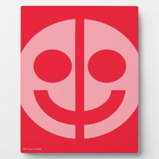 Equality smile hardboard panel plaque
